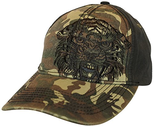 (Miami Ink Tiger Face Baseball Cap (Multi-Colour))