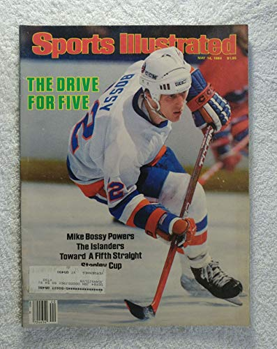 Mike Bossy - New York Islanders - Stanley Cup Finals - Sports Illustrated - May 14, 1984 - Edmonton Oilers - SI