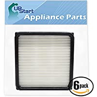 6-pack Replacement F66 Filter 304708001 for Dirt Devil - Compatible with Dirt Devil UD70105, Dirt Devil F66, Dirt Devil UD70100, Dirt Devil UD70220, Dirt Devil F59, Dirt Devil UD70120, Dirt Devil UD70110, Dirt Devil UD70107, Dirt Devil UD70105B