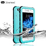RedPepper Waterproof Case for iPhone 6 Plus/6s Plus, IP68 Certified Drop Resistant Full Sealed Underwater Protective Cover, Shockproof, Snowproof and Dirtproof for Outdoor Sports