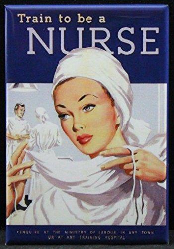 WW2 Poster Refrigerator Magnet. Great Nursing Gift! ()
