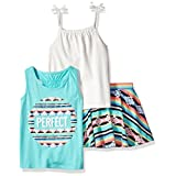 The Children's Place Baby Big Girls' Top and Skirt Set, Multi 2 86563, 2T