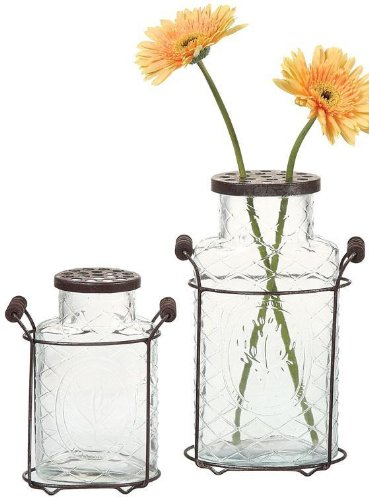 Glass Jar Vase, 5.5×3, CLEAR For Sale
