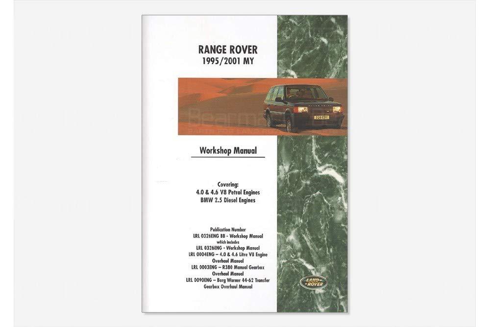 BEARMACH OEM - Workshop Manual - Range Rover Classic Part# VDR10037 by BEARMACH (Image #1)