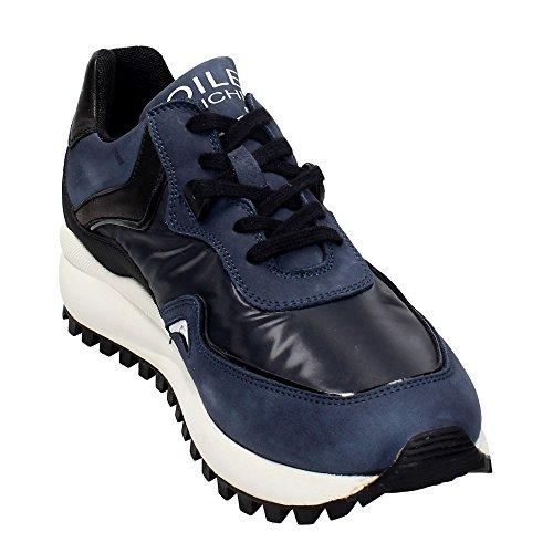 Voile Blanche - Zapatillas para hombre gris Grigio Militare / Nero azul Size: 41