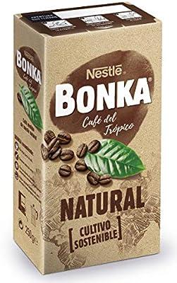 Nestle - Bonka - Café Molido de Tueste Natural - 250 g: Amazon.es ...