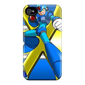 High Quality Shock Absorbing Case For Iphone 4/4s-mega Man X Armors