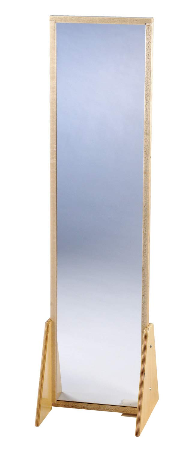 Childcraft 2 Position Acrylic Mirror, Large, 13-1/4 x 11-3/4 x 48-1/2 Inches - 271504 by Childcraft