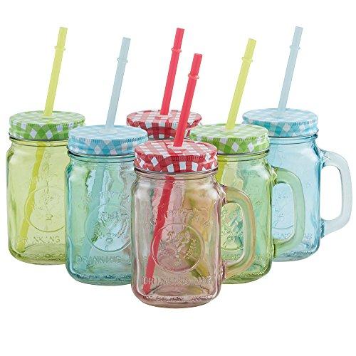 Mason Jar Drinking Glasses Amazon