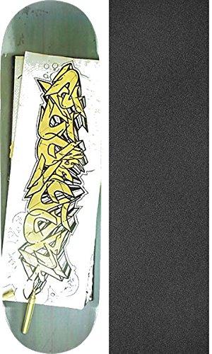 Zoo York Skate Decks (ZOO BLACK BOOK SKATE DECK-8.5 w/ MOB GRIP)