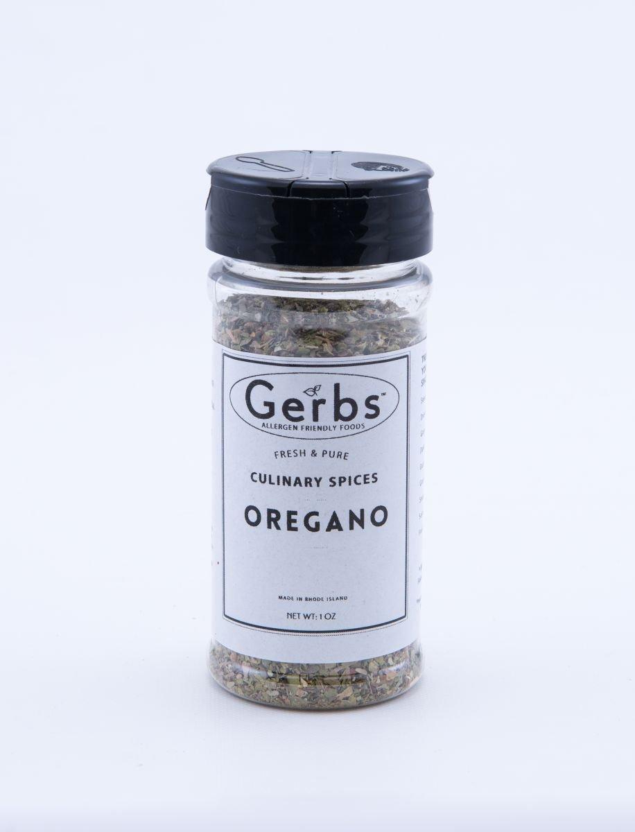 Dried Oregano Flakes by Gerbs - 2 Pack (1 oz.) Shacker Jar - Top 12 Food Allergen Free - Gourmet Chef Grade