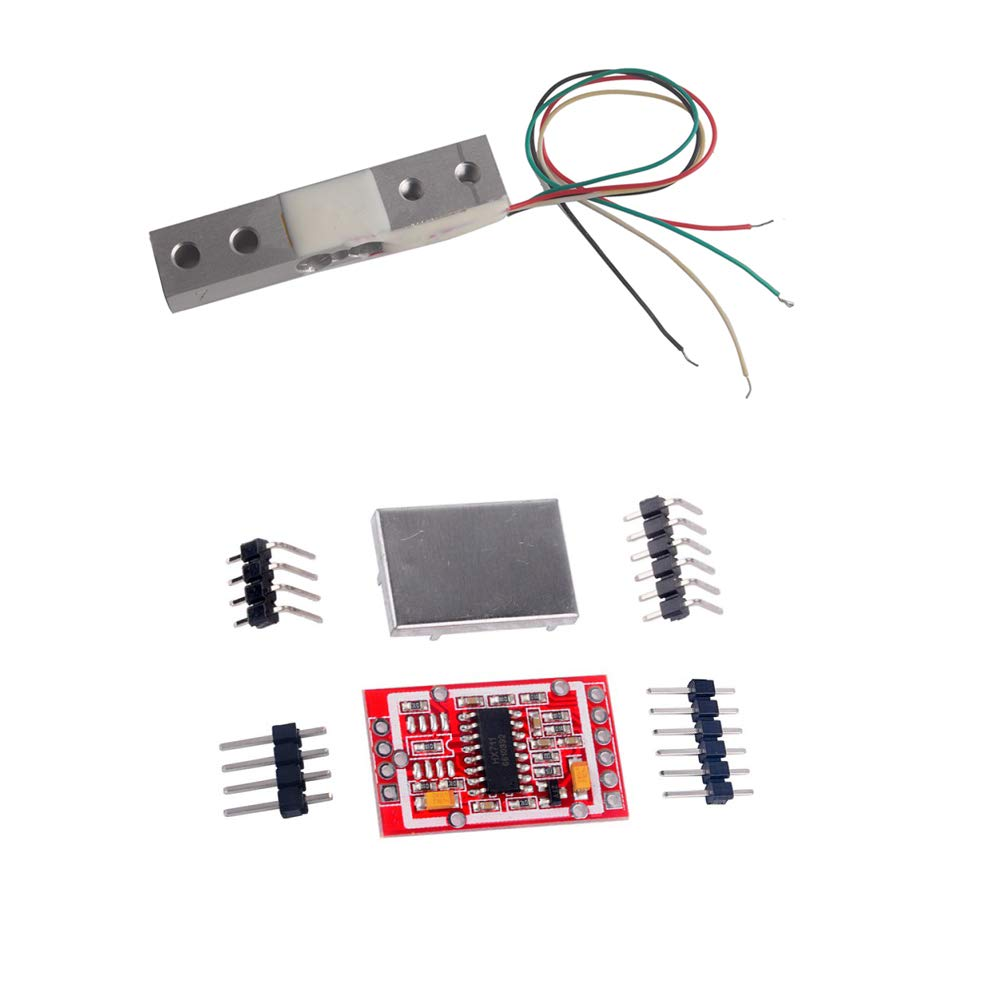 Weight Sensor Load Cell Amplifier Electronic Kitchen Scale HX711 AD Weighing Module Red for Arduino WIshiot 300g