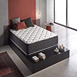 Wake-Up Pocket Spring Mattress King Size (White, 78 x 72 x 10-Inch)