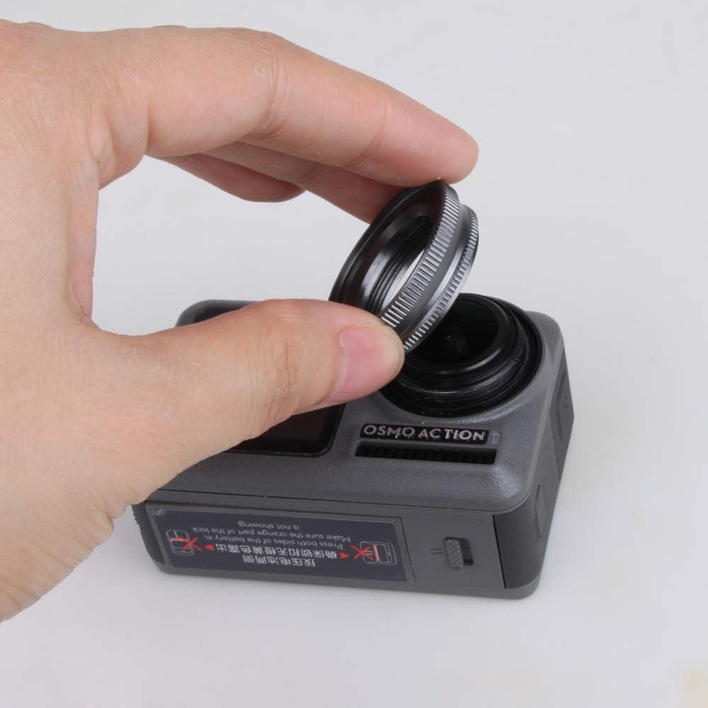 2pcs DF VRfamily Diving Filter Adjustable ND PL CPL Lens Sets for DJI Osmo Action Camera