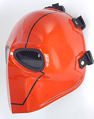 Airsoft Full Face Mask Army of two Cosplay Halloween mask Paintball Ghost Masks Red -