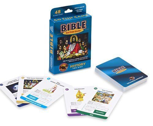 The Classical Historian Bible Go Fish Game