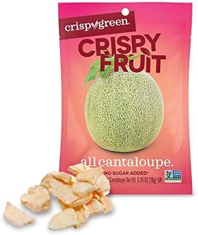 Dried Fruit & Raisins: Crispy Fruit All Cantaloupe
