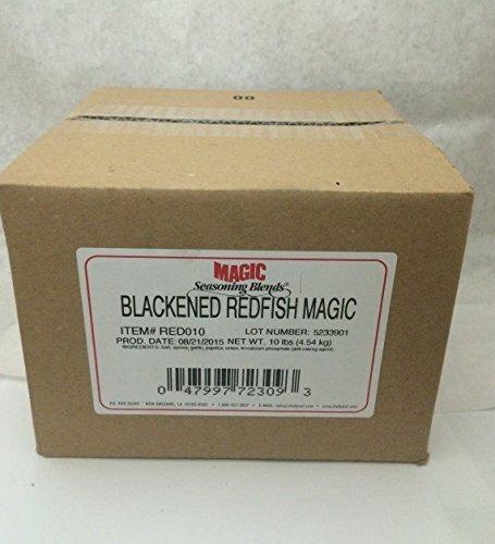 Chef Paul Prudhommes Blackened Redfish Magic - 10 Lb. Bulk Food Service Box Wholesale