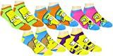 The Simpsons Womens' Ankle-No Show Socks 5 Pair Pack (One Size, Simpsons Multi-color)