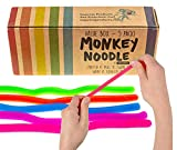 Whether in search of a new fidget toy or tactile / sensory toy, our Monkey Noodles are perfect. Stretch, pull, twirl, wrap and squeeze them - then watch them bounce back to their original shape! They're perfect for sensory and tactile stimulation. Ma...