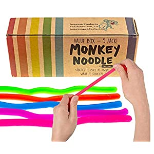 Best Epic Trends 51eyQ%2BHWLlL._SS300_ Impresa Products 5-Pack of Stretchy String Fidget / Sensory Toys (BPA/Phthalate/Latex-Free) - Stretches from 10 Inches…
