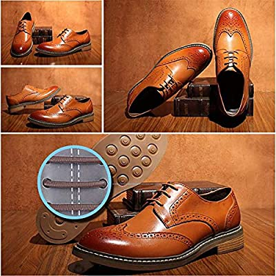 Coolnice No Tie Dress Shoe Laces for