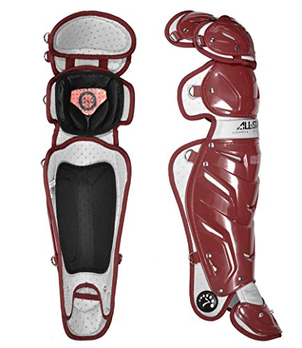 All-Star Intermediate System 7 Catcher's Leg Guards (14.5'') by All-Star