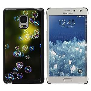 TopCaseStore / la caja del caucho duro de la cubierta de protección de la piel - Green Nature Reflective Reflection - Samsung Galaxy Mega 5.8 9150 9152