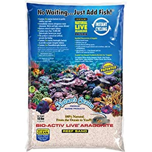 Nature's Ocean Bio Activ Live Aragonite Aquarium Sand