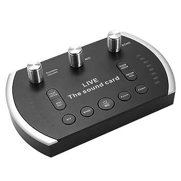 Docooler Festnight Micrófono de Condensador con Cable Voz Música ...