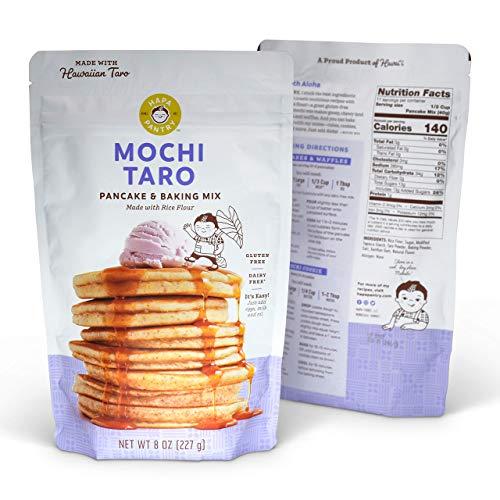 Gluten Free Pancake Waffle Mix (Taro, 1 Bag)
