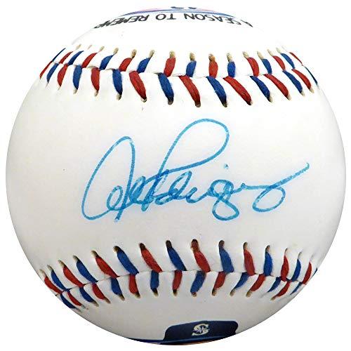 Fotoball Baseball - Alex Rodriguez Autographed Fotoball Baseball Seattle Mariners 40/40 Beckett BAS #H10559