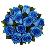 100 Real Fresh Blue Roses | Exotic and amazing