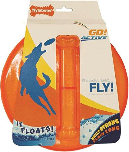 Nylabone Go!Active Flying Disc Dog Toy