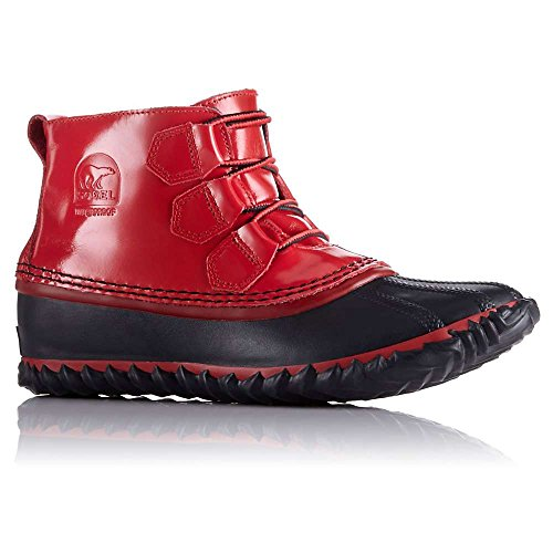Sorel Out N About Rain Boot - Women's Burnt Henna / Black 12 by SOREL
