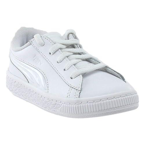 362af925321f48 Puma Baby-Girls 363905-03 White Size  6 M US  Amazon.co.uk  Shoes   Bags