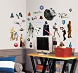 Tools & Hardware : Roommates Rmk1586Scs Star Wars Classic Peel And Stick Wall Decals