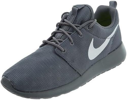 perturbación Puede soportar Enredo  Amazon.com: Nike Roshe One 511881-032 - Zapatillas de running para hombre,  talla 11, color gris y blanco: Shoes