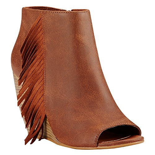 Ariat Womens Unbridled Jaycee New West Rich Cognac