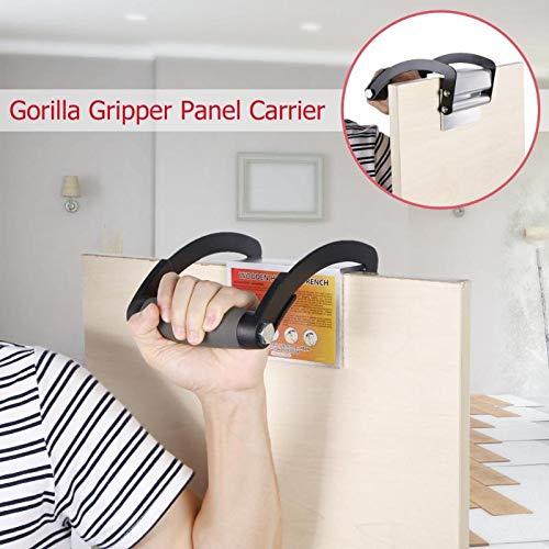 ANJUYA Easy Gorilla Gripper Panel Plywood Carrier Handy Grip Board Lifter Hand