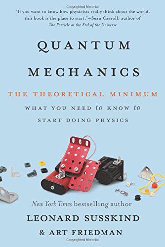 Book Cover: Quantum Mechanics: The Theoretical Minimum