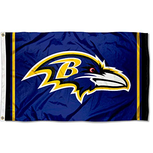 - Wincraft Baltimore Ravens Large NFL 3x5 Flag