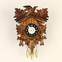 Key Wind up 5 Leaf Clock