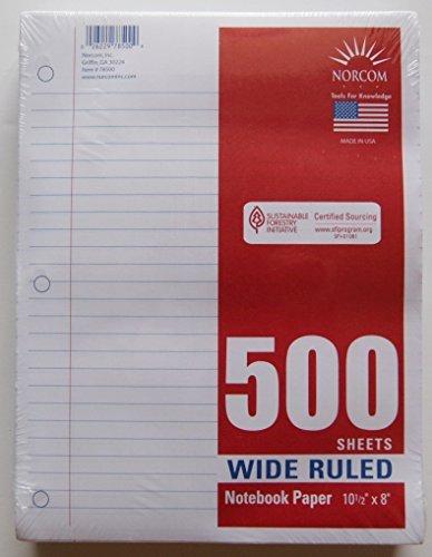 500 Sheet Notebook - 7