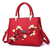 Best Pu Leather Shoulder Bags Satchel Clutch Womens Handbag Tote Purse Messengers - ZHIHUI - Women Chinese Oriental Style Shoulder Tote Review