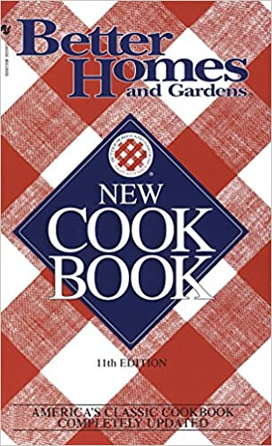 11th Edition Better Homes /& Gardens New Cookbook