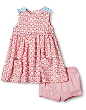 Heart 2pc Dress Set