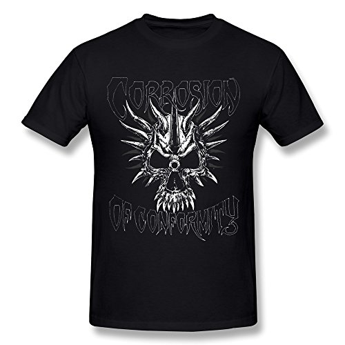 Men's Corrosion Of Conformity COC Work Logo T-shirt - Matt Shirt Cain