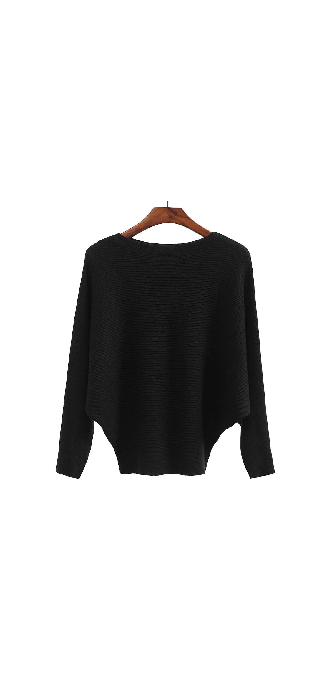 Women Sweaters Batwing Sleeve Casual Cashmere Jumpers