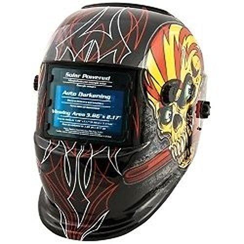 Shop Iron 41283 Solar Powered Auto Darkening Welding Helmet